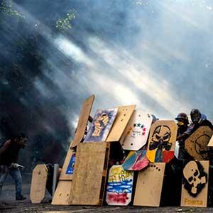 Exposition Venezuela, la chute sans fin  