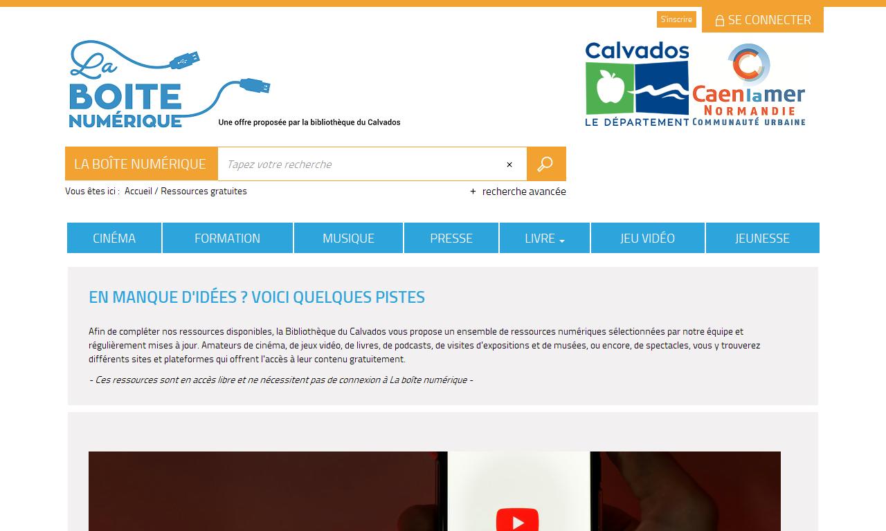 Un Site Du Département Du Calvados Accueil Portal