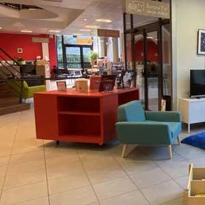 Valdallière : réaménagement à la bibliothèque | Administrateur, superviseur général