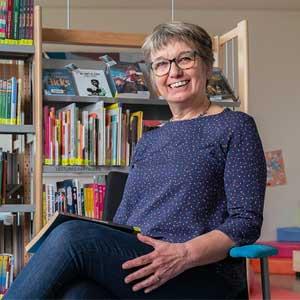 Coup de cœur So14 pour Ginette Grancher, bénévole à la bibliothèque de Cairon | Administrateur, superviseur général