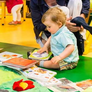 Pourquoi lire des livres avec les bébés ?  | Administrateur, superviseur général